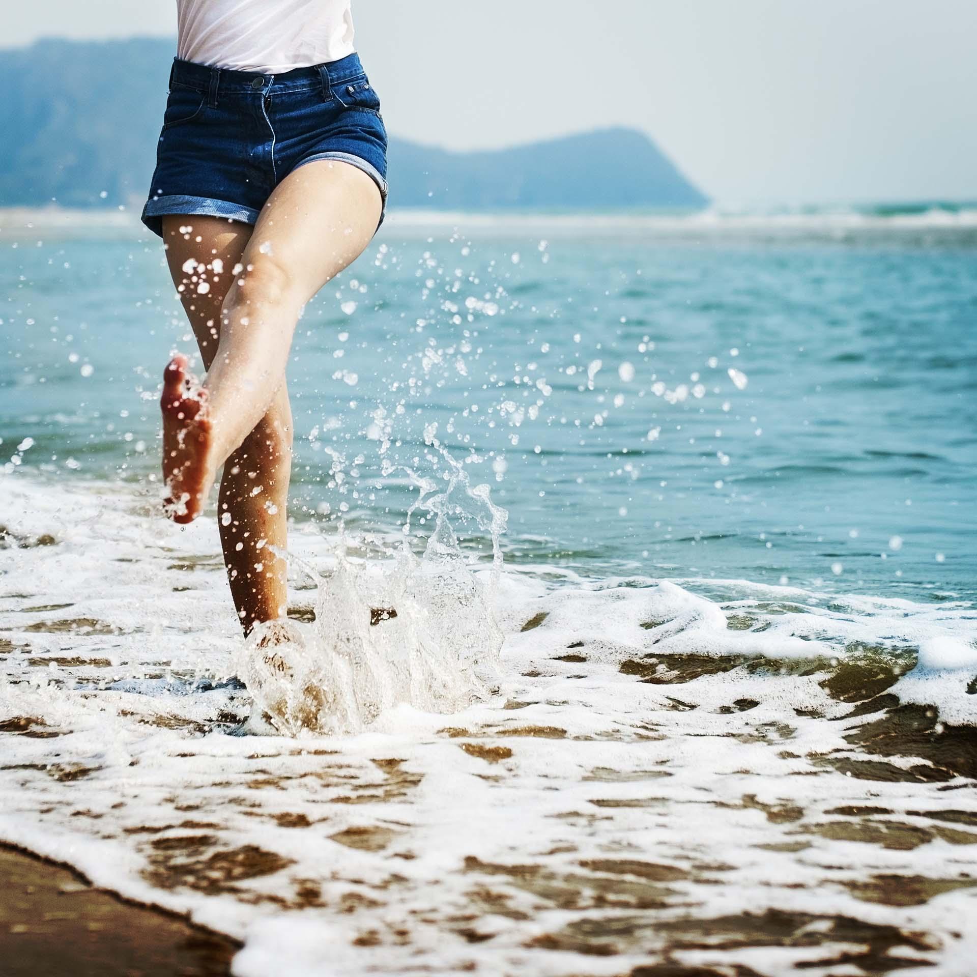 Sea Ocean Sand Beach Vacation Coast Chill Bare Concept